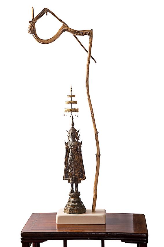 28-Bouddha à l'ombrelle